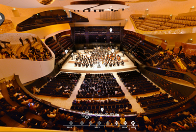 Auditorium 360° Philharmonie de Paris